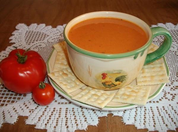 Garden Fresh Tomato Soup Recipe