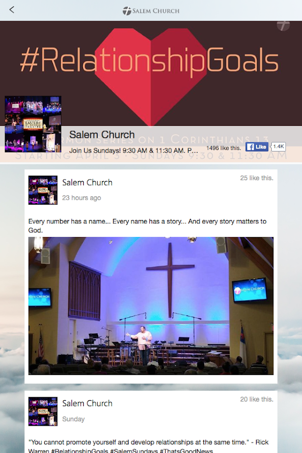 Salem Church NYC- screenshot