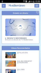 Tv Mediterráneo- screenshot thumbnail