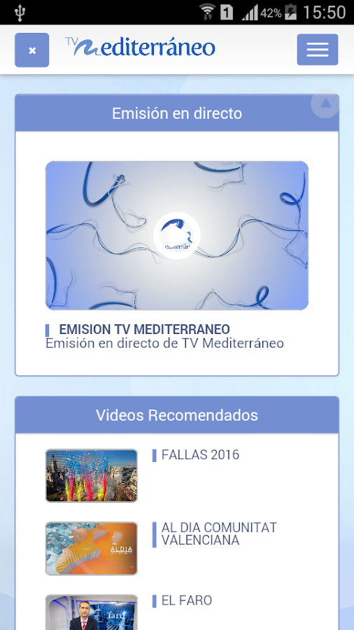 Tv Mediterráneo- screenshot