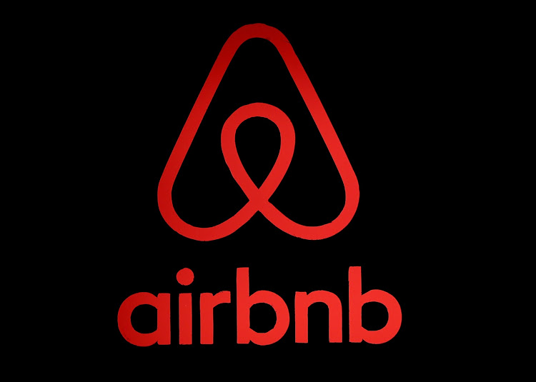 The logo of Airbnb.