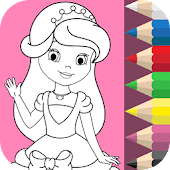 Tải Game Princess Coloring Book