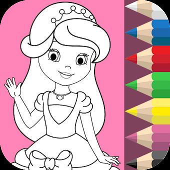 Princess Girls Coloring Book 1 0 0 Hileli Apk Indir Mod Download