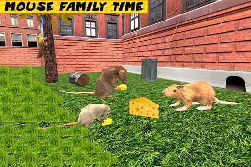 Stray Mouse Family Simulator: City Mice Survival  screenshots 4