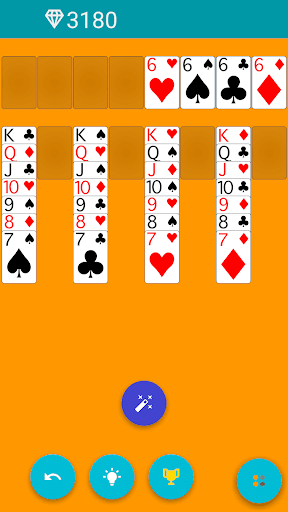 FreeCell android2mod screenshots 2