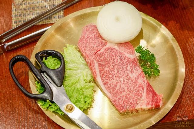 special wagyu beef rib eye