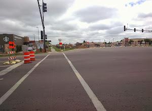 Photo: Road construction on Madison Avenue