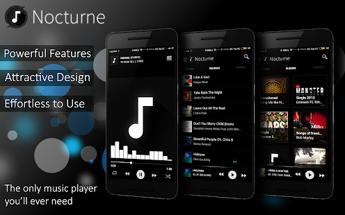 Nocturne Müzik Player Screenshot