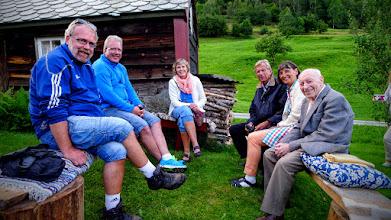 Photo: Norman Vik, Torbjørn Vik, Olaug Søreide, Odd Søreide, Ellen Søreide og Sveinung Kristiansen