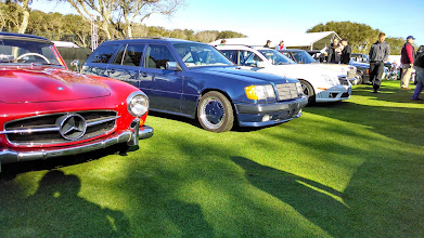 Photo: Taking the AMG Hammer wagon, 500sel AMG etc down to Amelia for cars and coffee and the concourse :)