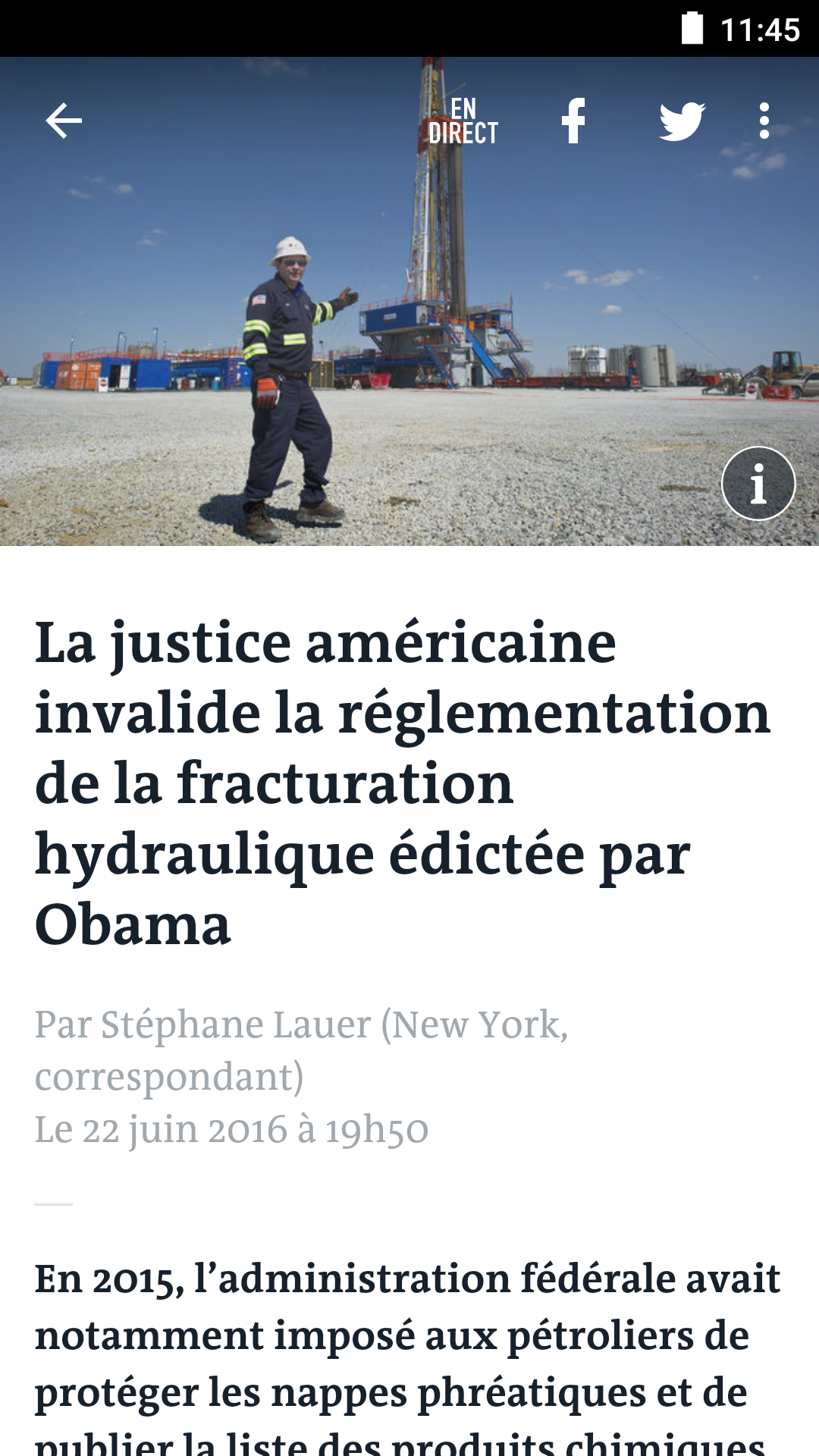 Le Monde, l'info en continu screenshot #3