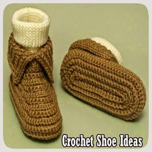 Nápady na háčkované boty - náhled