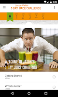 Screenshot of Jason's 5-Day Juice Challenge