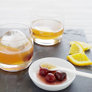 Bourbon and Hot Honey Cocktail.