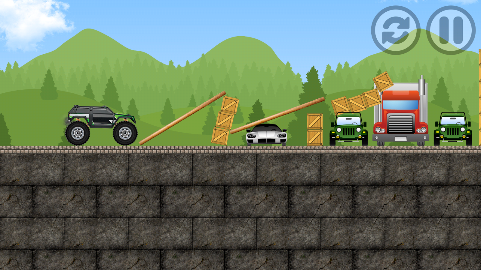 Monster Truck Games Android Apps On Google Play