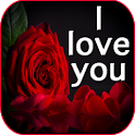 I love you flowers images GIF & rose HD wallpapers icon