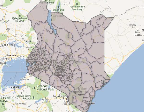 Kenya Constituencies