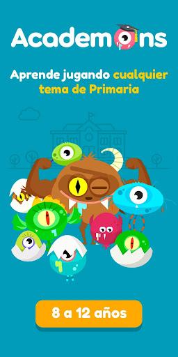 Academons Primaria - juegos educativos para niu00f1os screenshots 1