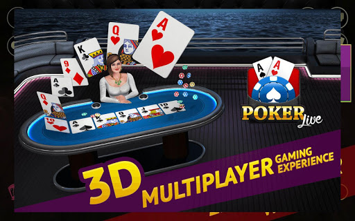 Poker Live! 3D Texas Hold'em 1.9.1 screenshots 1