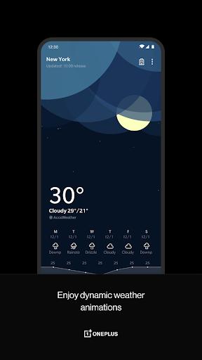 OnePlus Weather screenshot 1