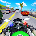 Police Moto Bike Highway Rider Traffic Racing Game icon