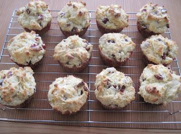 Christmas Cranberry Muffins Recipe