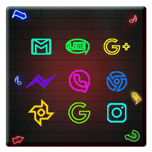 Neon Light Business Wall Theme Android APK Download Free By Fantastic Design