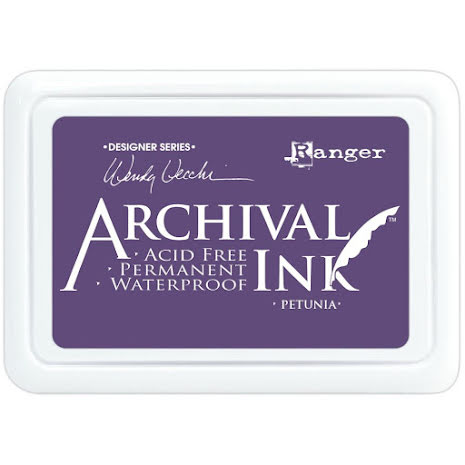 Ranger Archival Ink Pad - Petunia