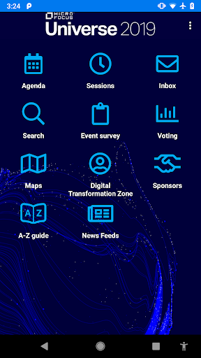 Screenshot for Micro Focus Universe in United States Play Store