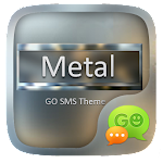 GO SMS METAL THEME Icon