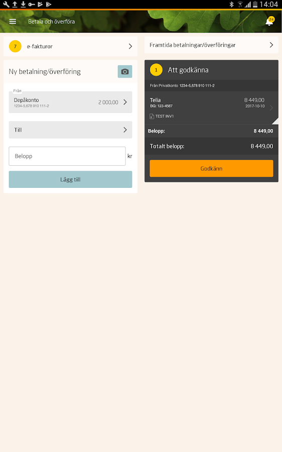 Savings Bank private- screenshot