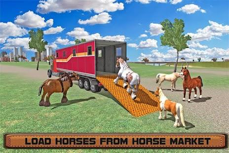 Horse Stunts Transporter Truck screenshot