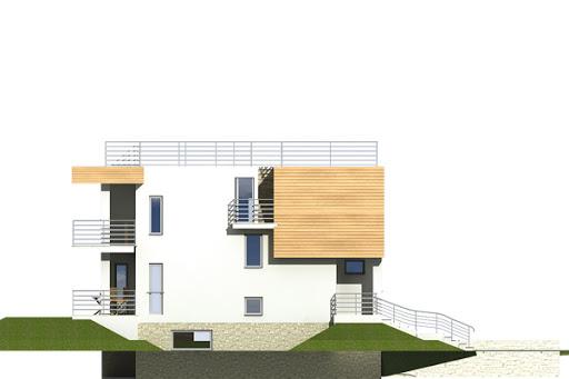 Nasz Dom wersja A - Elewacja lewa