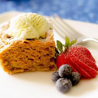 Rhubarb Pudding Cake (Gluten-Free, Vegan).