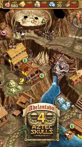 Adelantado. 4 Aztec Skulls  captures d'écran 5