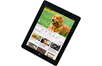 tablets for dementia care research icon