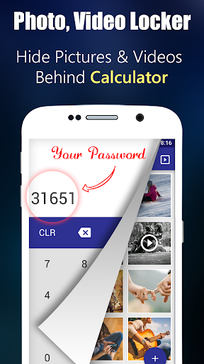 Photo,Video Locker-Calculator 20.0 screenshots 1