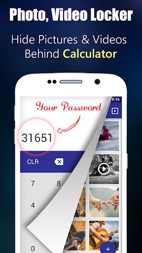 Photo,Video Locker-Calculator Apk 1