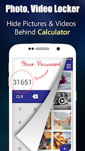 Photo,Video Locker-Calculator 1