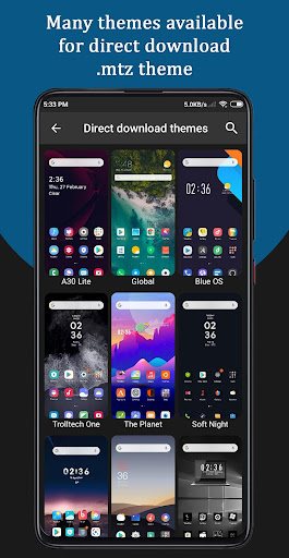 Themes for MIUI screenshot 8