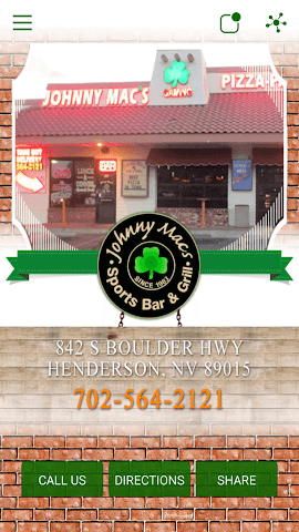 android Johnny Mac's Restaurant & Bar Screenshot 0