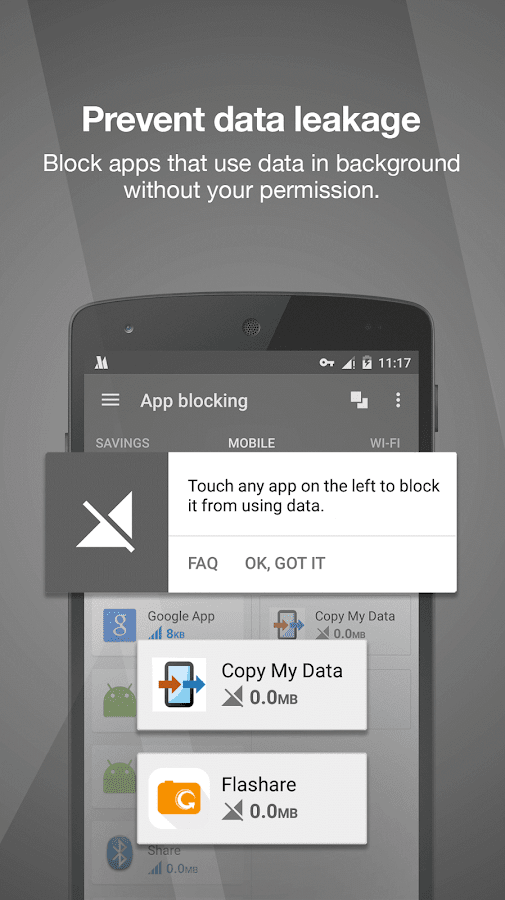 Opera Max - Διαχείρ. δεδομένων - screenshot