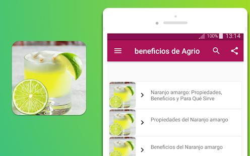 beneficios de Agrio - náhled