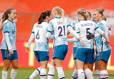 Duur puntenverlies voor Noorwegen, Red Flames als groepsleider naar Oslo