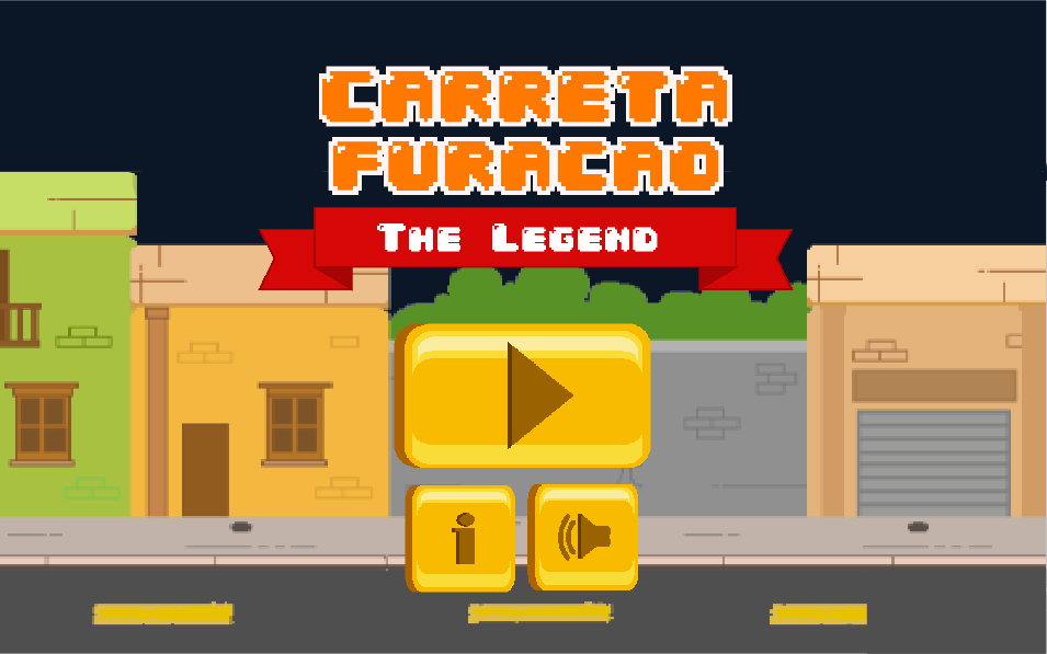 Carreta Furacão: The Legend: captura de tela