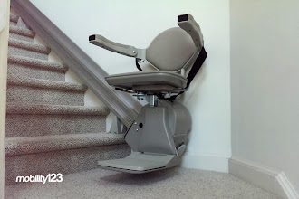 Photo: This is a Bruno Elan #Stairlift. Made in the USA, no one does it better!  #Mobility123   #SafeLiving