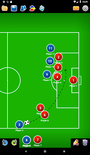 Coach Tactic Board: Soccer 1.2.2 screenshots 11