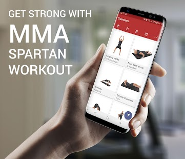 MMA Spartan System Gym Workouts & Exercises Free - náhled