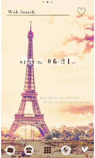 Eiffel Tower Theme-Paris sky- 1.0.1 Windows u7528 5