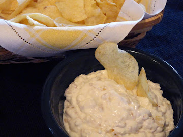 Foodchickie's Favorite Onion Dip (from Scratch) Recipe